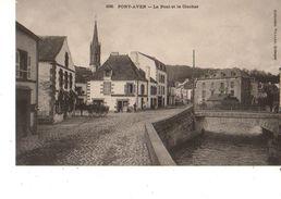 29----PONT-AVEN--le Pont Et Le Clocher---voir 2 Scans - Pont Aven