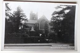CPA Woodford Parish Church 1936 - Northamptonshire
