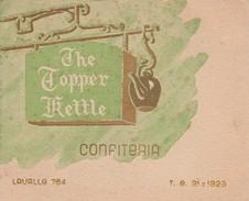 ARGENTINA. THE TOPPER RETTLE. COCTAIL PARTY EN HONOR ANA MARTA STOLIAR. 26 NOVIEMBRE 1949. ED O A CAPPELLANO -TBE-BLEUP - Menus