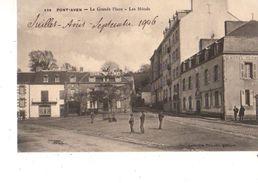 29----PONT-AVEN--la Grande Place--les Hôtels--voir 2 Scans - Pont Aven