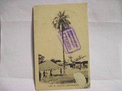 CPA  GAMBIE / Factoreries à Kontaour 1913 Cachet Capitaine Au Long Cours L. J. Cruchot  T.B.E. - Gambia