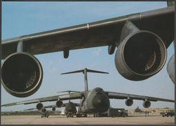 Lockheed C-5A Galaxy Transport Aircraft - After The Battle Postcard - 1946-....: Modern Era