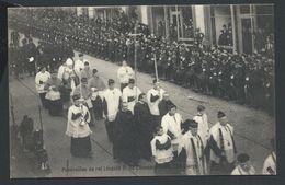 +++ CPA - Funérailles Du Roi Leopold II  - 1909 - Le Clergé     // - Funérailles