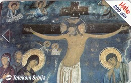 SERBIA - Fresco Studenica Monastery , 10/03, Sample No Chip And No Control Number - Yugoslavia