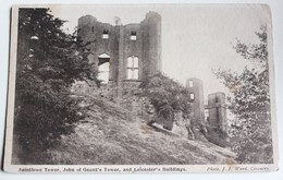CPA Kenilworth Castle Saintlowe Tower John Of Gaunt's Ande Leicester's Buildings 1915 - Angleterre