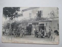 ALGERIE  -  OUED-ATHMENIA  -  CAFE  CAVALIER       TRES  ANIME - Algeria