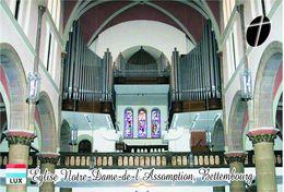 Carte Postale, Eglises, Orgues, Churches Of Europe, Luxembourg, Bettembourg, Église Notre-Dame-de-l'Assomption - Churches & Cathedrals