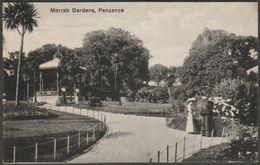 Morrab Gardens, Penzance, Cornwall, 1916 - Lethby's Bazaar Postcard - England