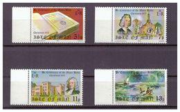 Großbritannien-Insel Man, Mi-Nr. 68-71 Linker Rand, **, 1975 Weihnachten 200 Jahre Manx-Bibel - Christentum