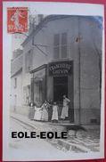 94 - Carte Photo - MANDRES LES ROSES - Charcuterie GREVIN - Devanture - Rue Leclerc Ou Grande Rue - Mandres Les Roses