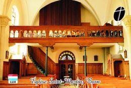 Carte Postale, Eglises, Orgues, Churches Of Europe, Luxembourg, Born, Église Saint-Martin - Eglises Et Cathédrales