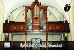 Carte Postale, Eglises, Orgues, Churches Of Europe, Luxembourg, Bourscheid, Église Saint-Michel - Kerken En Kathedralen