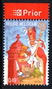 BELGIUM 2003 Christmas: Single Stamp + Label UM/MNH - Belgique