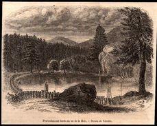 1853  --  VEXAINCOURT VOSGES   PREOCESSION AUX BORD DU LAC DE LA MAIX   3N319 - Vieux Papiers
