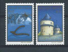 België  2002    O.B.C.  3088 / 3089   (XX)   700 Jaar Guldensporenslag - Ungebraucht