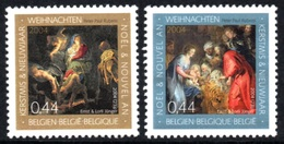BELGIUM 2004 Christmas: Paintings By Peter Paul Rubens: Set Of 2 Stamps UM/MNH - Belgique