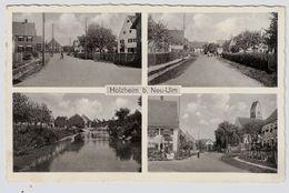 """1937, """" Holzheim B. Neu-Ulm """" , Mit Landpost-Stempel !#7434 - Deutschland"""