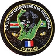 ECUSSON GROUPE D' INTERVENTION REGIONAL GUYANE - Police