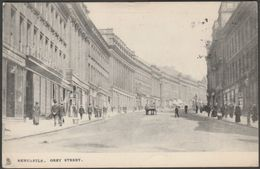 Grey Street, Newcastle, Northumberland, 1916 - Tuck's Postcard - Newcastle-upon-Tyne