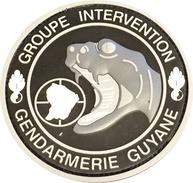 ECUSSON GROUPE INTERVENTION GENDARMERIE GUYANE - Police