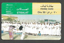 USED PHONECARD UNITED ARAB EMIRATES - United Arab Emirates