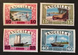 Anguilla   - MH*  - 1968  - # 32/35 - Anguilla (1968-...)