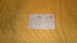 CARTE POSTALE ANCIENNE CIRCULEE DE 1947. / QUEEN ELIZABETH. / CACHETS PAQUEBOT POSTED AT SEA. SOUTHAMPTON PAQUEBOT + T - Postmark Collection