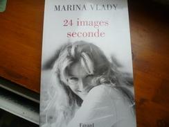 """AUTOGRAPHE Livre Et Dédicace MARINA VLADY """" 21 Images Seconde"""" Auto Biographie - Biographie"""