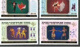 North Korea 1989 Letters Dance Marking Method (ballet & Quot; Don Quixote & Quot ;, Mexico And Other Dance) 4 Fu - Korea, North