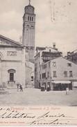 ITALIE 1902 CARTE POSTALE DE VENEZIA   CAMPANILE DE S. STEFANO - Venetië (Venice)