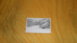 CARTE POSTALE ANCIENNE NON CIRCULEE DATE ?. /  GRUSS AUS OBERSTDORF. SPIELMANNSAU - Oberstdorf