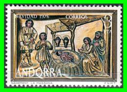 ANDORRA CORREO ESPAÑOL  SELLO  NAVIDAD AÑO 1976 VALOR 3.Ptas NUEVO CON GOMA SIN CHANELA - Nuevos
