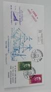 Enveloppe CHARCOT Dernier Voyage Du POURQUOI PAS SAINT MALO REYKJAVIK 1986 - FDC