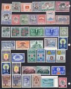 Sri Lanka Ceylon  1949-67 Insieme Di 34 Serie Cpl. Tra I N/n Yv. 273 E 397  Gomma Integra MNH** - Sri Lanka (Ceylon) (1948-...)