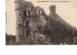 29----PONT-AVEN---ruines Du Château De Rustephan--voir 2 Scans - Pont Aven