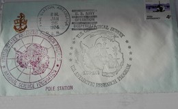 NEW ZELAND Ross US Navy Operation Deep Freeze 01/25/74 - Lettres & Documents
