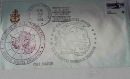 NEW ZELAND Ross US Navy Operation Deep Freeze 01/25/74 - Dépendance De Ross (Nouvelle Zélande)