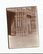 CHARTRES (28) PHTO ENTREE DE LA CATHEDRALE 1915 - Places