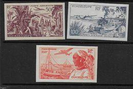 GUADELOUPE - P.A.  13 à 15 *  NON DENTELES  - Cote : 80 € - Guadeloupe (1884-1947)