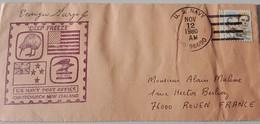 COVER Antarctic  US Navy Deep Freeze 11/80 - Stamps