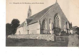 29----chapelle SAINT-MAUDEZ--près PONT-AVEN---( Peu Courante )--voir 2 Scans - Pont Aven