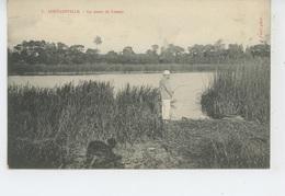 COUTAINVILLE - La Mare De LESSAY (Pêcheur ) - France