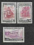HONDURAS YVERT PA 242,243,244 MLH*. - Honduras