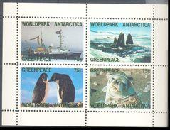 New Zealand Greenpeace Antarctica 4 Values Mint / Neuf - Andere