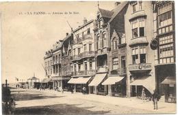 La Panne NA87: Avenue De La Mer 1921 - De Panne