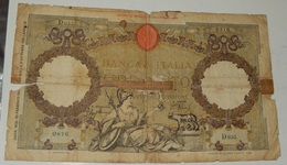 BANCONOTA 100 LIRE – 20/02/1941 – (B) - [ 1] …-1946 : Kingdom