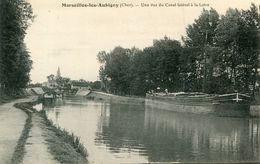 MARSEILLES LES AUBIGNY(BATEAU PENICHE) - Autres Communes