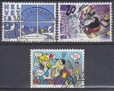 SUIZA 1992 Nº 1403/05 USADO - Suiza