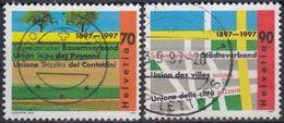 SUIZA 1997 Nº 1544/45 USADO - Suiza