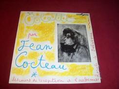COLETTE PAR JEAN COCTEAU  ° DISCOURS DE RECEPTION A L'ACADEMIE ROYALE  DE BELGIQUE - Collector's Editions